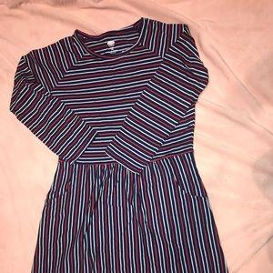 Girls midi dress with pockets size xl